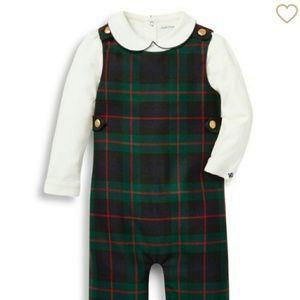 Plaid overalls Ralph Lauren